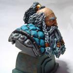 Dwarf Hunter blue 2 by Sarkazum