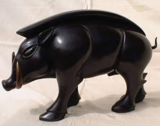 Pictish Boar by Sarkazum