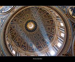 Plafond de la basilique St Pierre by fraisedesbois68