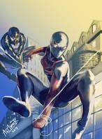 Spider-Woman (Ultimate Spider-Man) by Art1derer