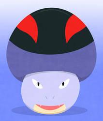 a mushroom with ... familiar aspect? by Brais-the-armaldo