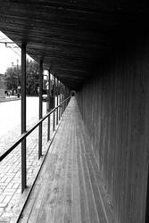 Wooden corridor 2 by EugenBehm