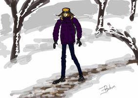 The winter me by EugenBehm