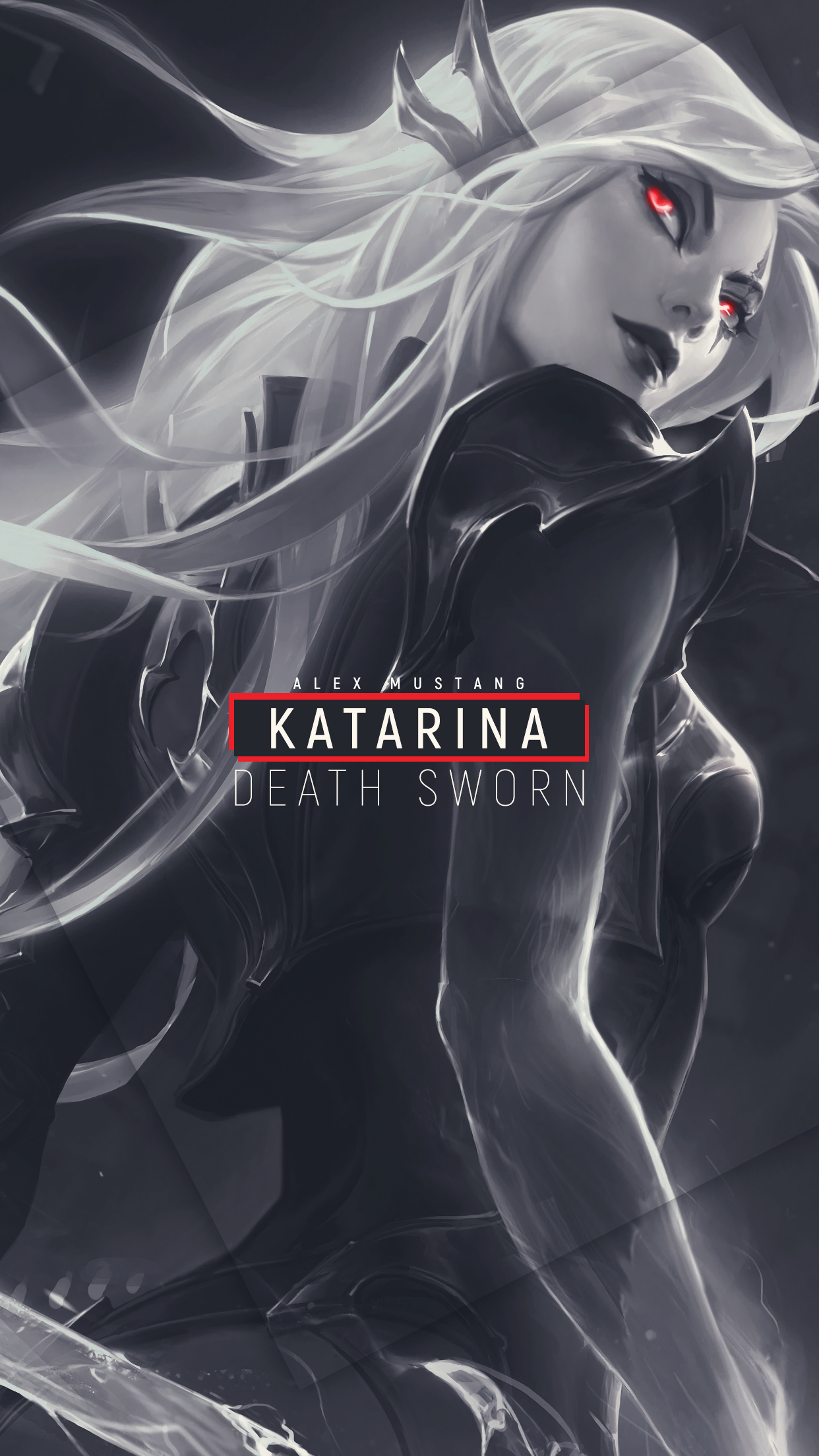 Katarina | Death Sworn | Mobile by AlexMust4ng