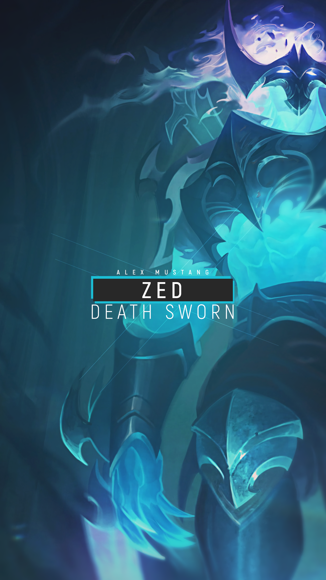 Zed | Death Sworn | Mobile by AlexMust4ng