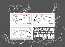 3 Vector Brushes by 99mockingbirds