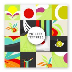 28 icon textures Colorfun by 99mockingbirds