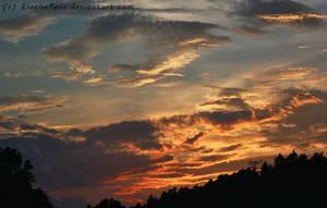 sunset by ElaynaTeos