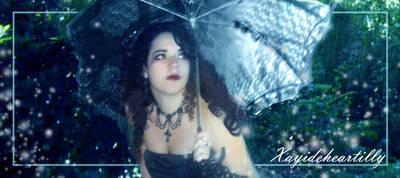 Under the rain by Gloria-T-Dauden