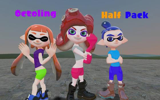 Octoling Half Pack by DarkMario2