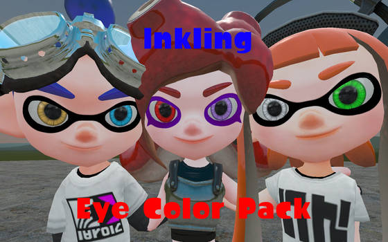 Inkling Eye Color Pack by DarkMario2