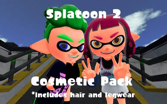 Splatoon 2 Cosmetic Pack by DarkMario2