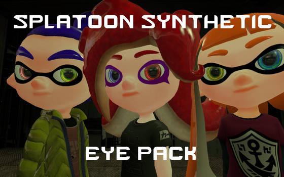 Splatoon Synthetic Eye Pack by DarkMario2