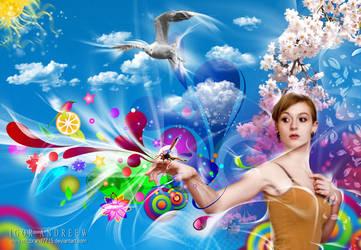 Color Dream part one by ArtzIGOR