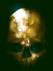 Skull Doodle by ericinprogress