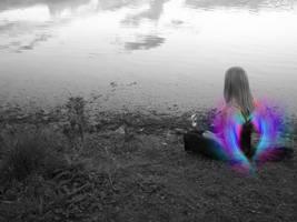 Aura Of An Angel -no border- by PandoraGloom