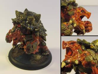 Teenage mutant pissed off turtle by LordJubba
