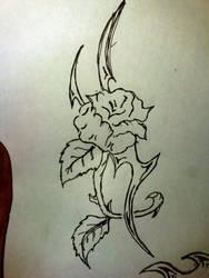 Rose tatoo by FireGen
