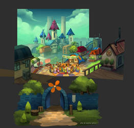 Windhym Town by ethe