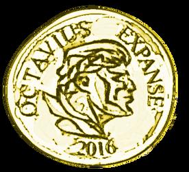 Roman coin by PeKj