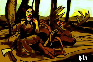 The Huntress by PeKj