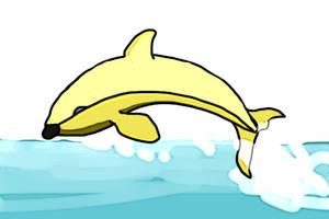The Banana Whale by PeKj