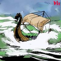 Riding the High Seas by PeKj