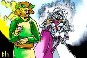 Morana and Yarilo by PeKj