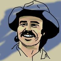 Burt Reynolds by PeKj