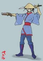 Warrior Woman by PeKj