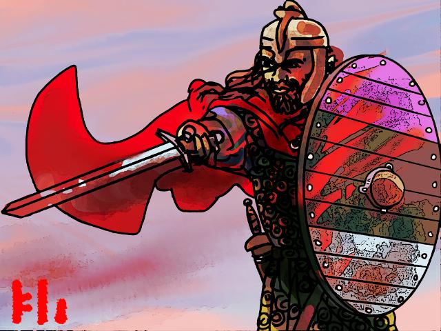 Warrior by PeKj