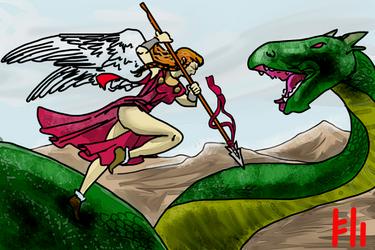the Dragon Hunter by PeKj