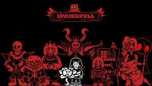 Underfell Cast by vansprites