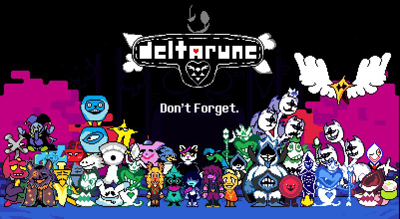 Deltarune - Full Cast by vansprites