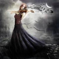 The Melancholic Song by DanielPriego