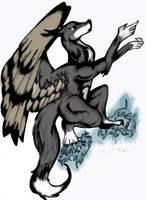 A Broken Bird (The Wolf) by tresh