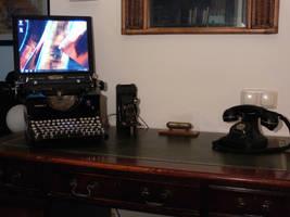 Steampunk Computer by Wirecase