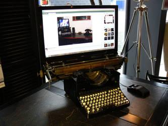 DeviantArt Steampunk Computer MK2, #1 by Wirecase