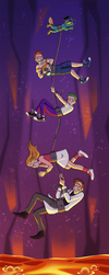 PnF: Trust Fall by Blairaptor