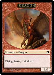 Dragon Token by WakeOfEscher
