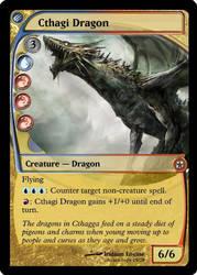 Cthagi Dragon by WakeOfEscher