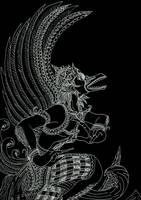 Maha Garuda by reidge