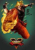 Ken SF5 by Maxwell Duarte by madmaxsol