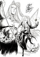 Sephiroth by Maxwell Duarte by madmaxsol