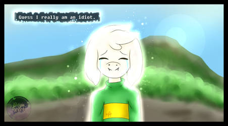 Bye Crybaby -Random glitchtale screen redraw #2- by Lisseth-chan