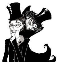 Dr. Jekyll and Mr. Hyde by Nymphesque