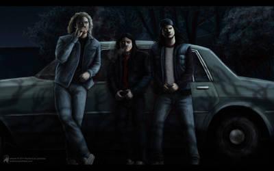 3 Demons by luckyraeve
