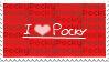 I Love Pocky Stamp by Twilight-Kiyoko