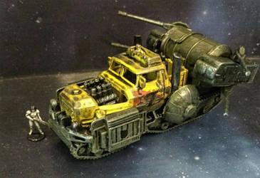 Gaslands - Wrobert the Wrecker by Spielorjh