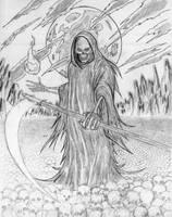 grim reaper by tragikdj911